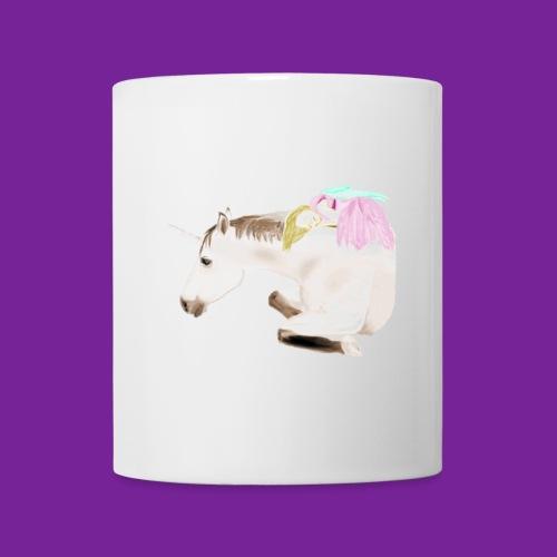 licorne et fee endormie - Mug blanc