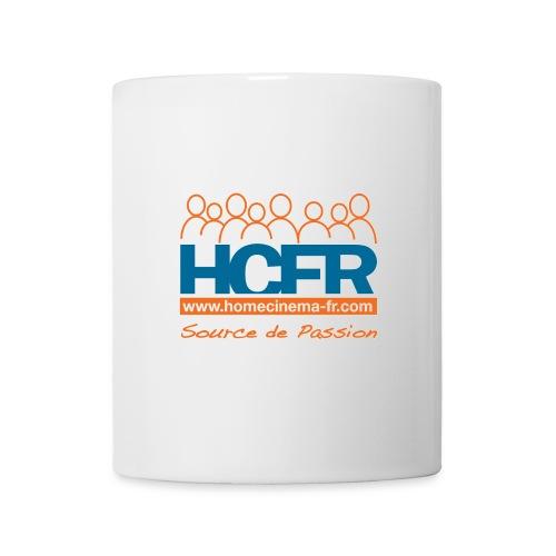 logo hcfr blanc 400 - Mug blanc
