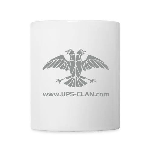 UPS Emblem v3 2 2c mit WWW - Tasse