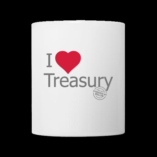 I LOVE TREASURY - Mug