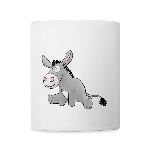 Esel - Kuschelesel sitzend - Tasse