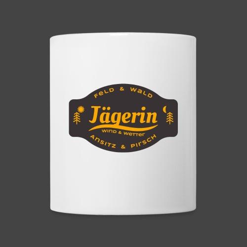 Das Jägerin-Shirt für aktive Jägerinnen - Tasse