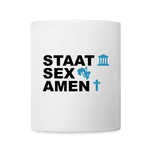 Staatsexamen / Staat Sex Amen - Tasse