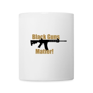 BLACK GUNS MATTER - Tasse