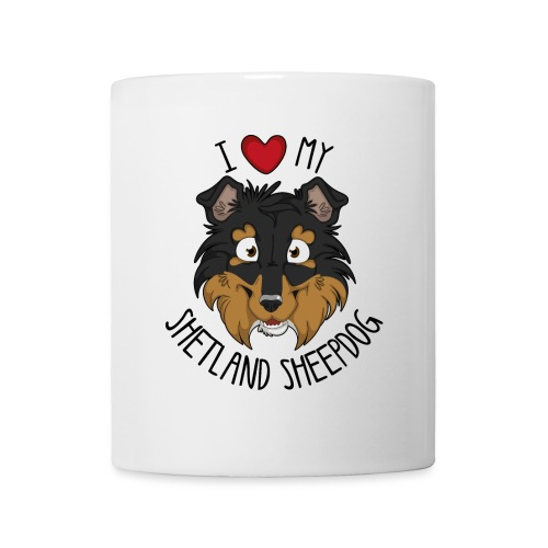 I love my Sheltie - Mug