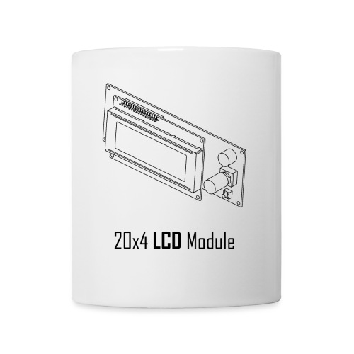 20x4 LCD Module - Mug