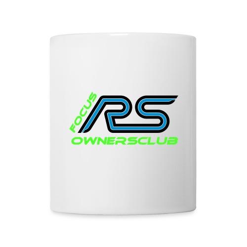 logo focus rs ownersclub shirt cmyk - Tasse