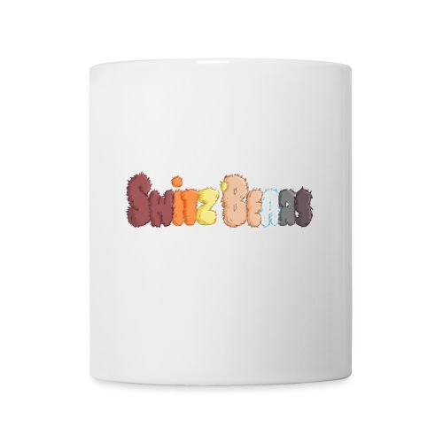 Switz'Bears logo lettre poilue - Mug blanc