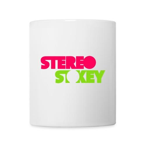 Pink Green Logo vertical px - Mug