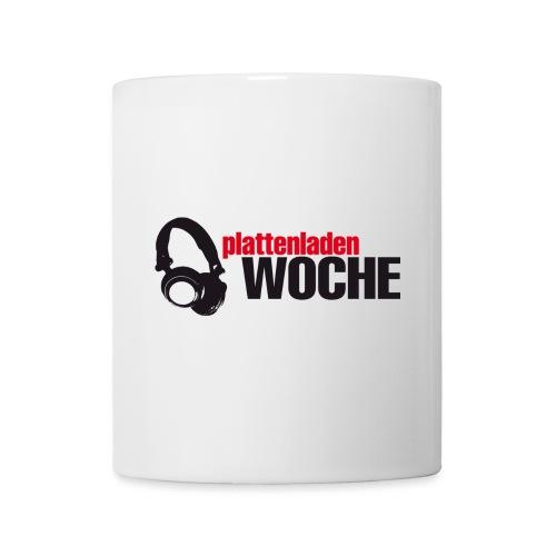 plattenwoche_schwarz_rot - Tasse