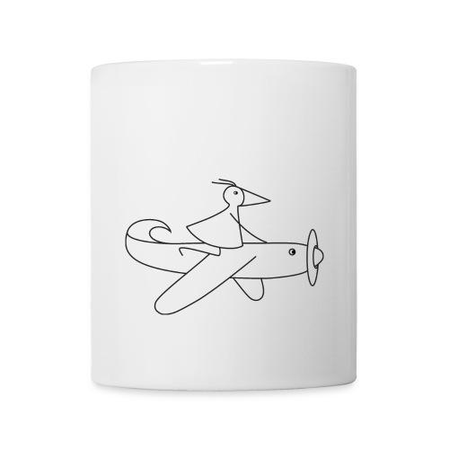 Flieger-RUNNY-auf-Flugzeug - Tasse