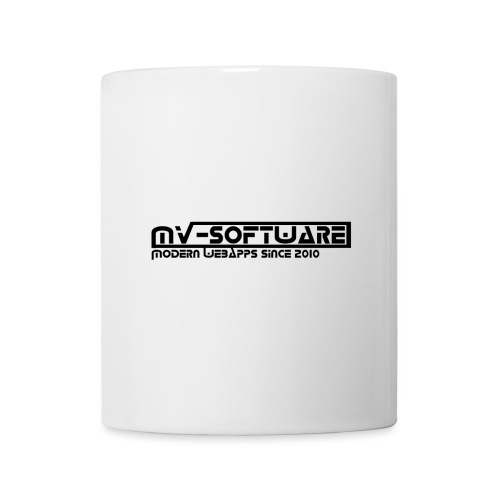 MV Software Banner - Tasse