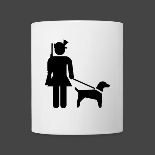 """""""Hundeführerin""""-Jägerinnen Shirt - Tasse"""