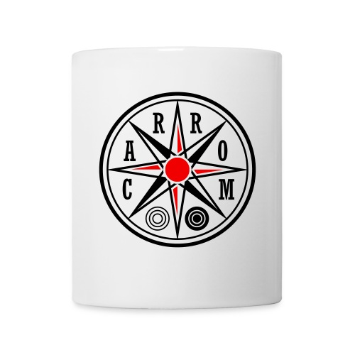 Carrom Logo rund - Tasse