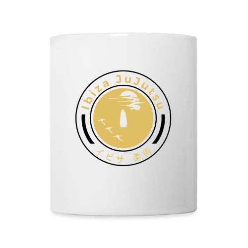 Classic circular logo for Ibiza JuJutsu - Mug