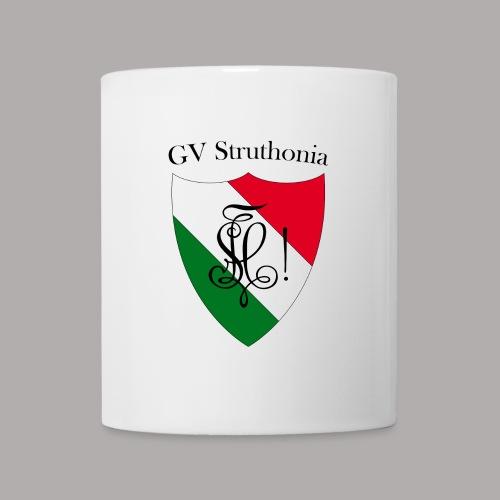 Wappen Struthonia beschriftet - Tasse