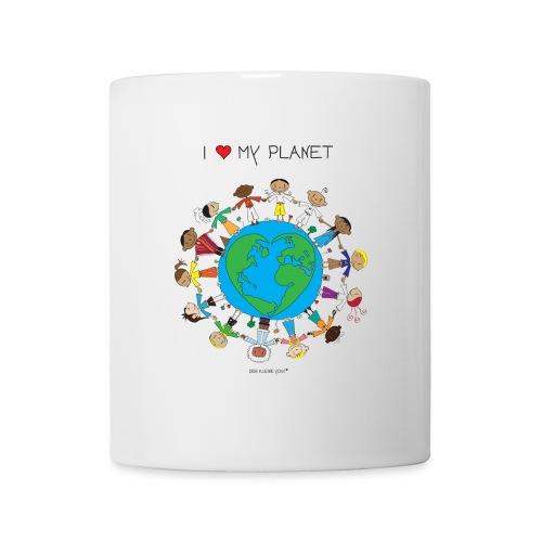 The Little Yogi - I love my planet - Mug