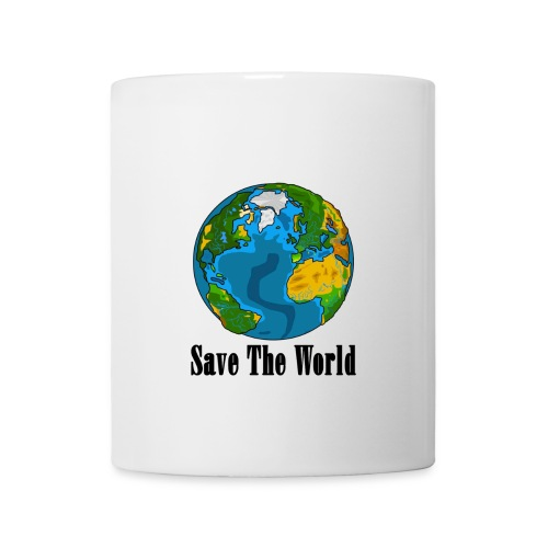 Save The World-Planet - Mugg