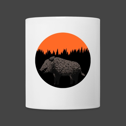 Sunset Boar - Tasse