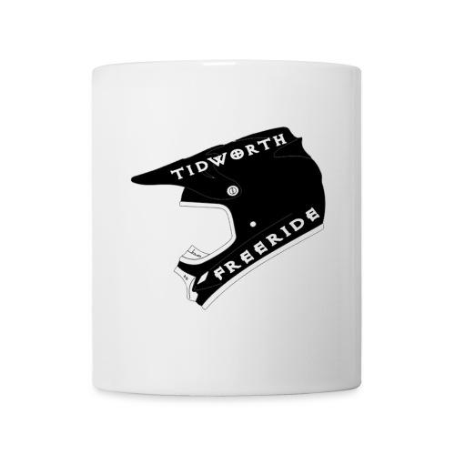 helemet black tidworth freeride white co - Mug