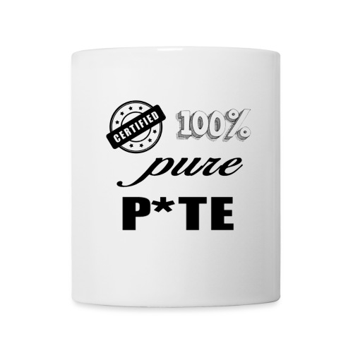 pure p*te - Mug blanc