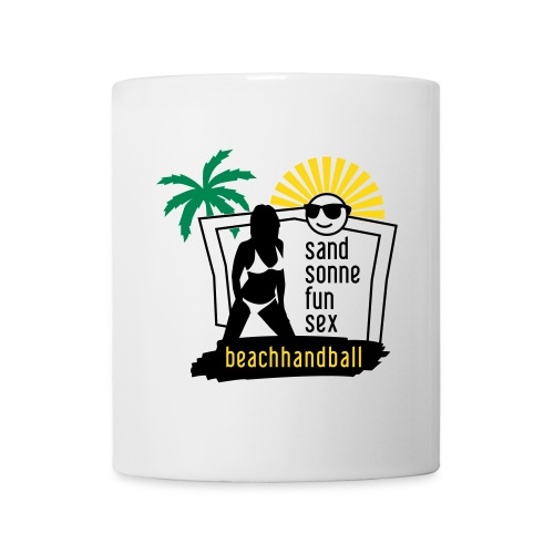 Beachhandball - Tasse