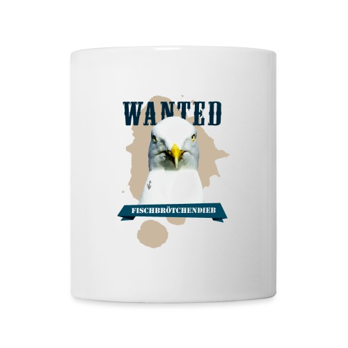 WANTED - Fischbrötchendieb - Tasse