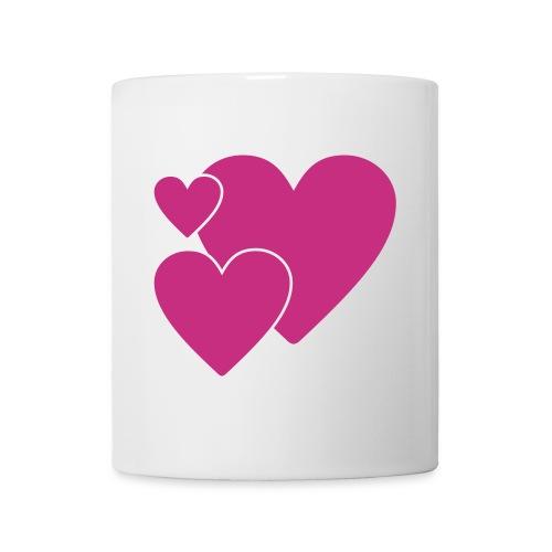 Tre hjerter - Mug