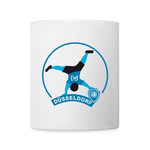 WJ Duesseldorf Radschlaeger Blau - Tasse