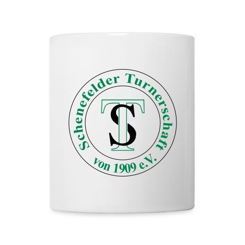TS Logo schw grün - Tasse