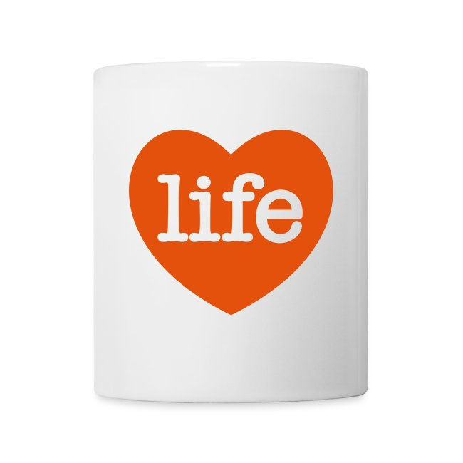 LOVE LIFE heart