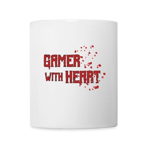 Gamer with heart - Mug