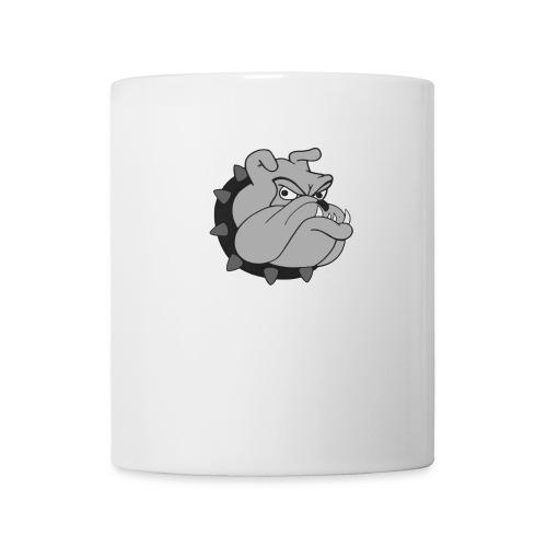 disegno di cane bulldog colorato 600x600 jpg - Tazza