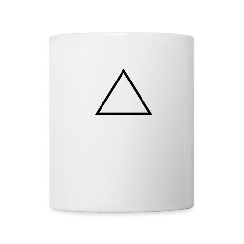 triangle black - Mug