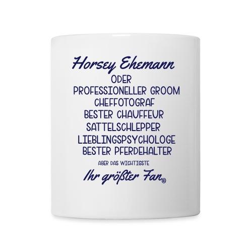 Horsey Ehemann - Turniertrottel - Tasse
