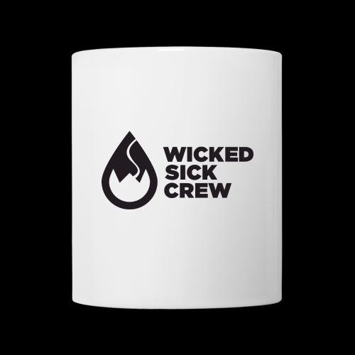 Wicked Sick Crew Tropfen schwarz - Tasse