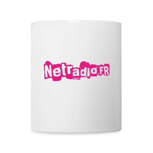 NETRADIO Spreadshirt png - Mug blanc
