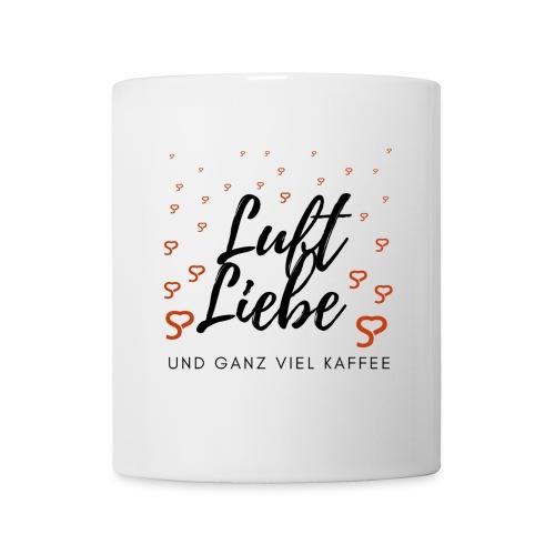 Luft Liebe und ganz viel Kaffee - Tasse