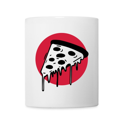 Pizza Punkt Duisburg - das magische Dreieck! - Tasse