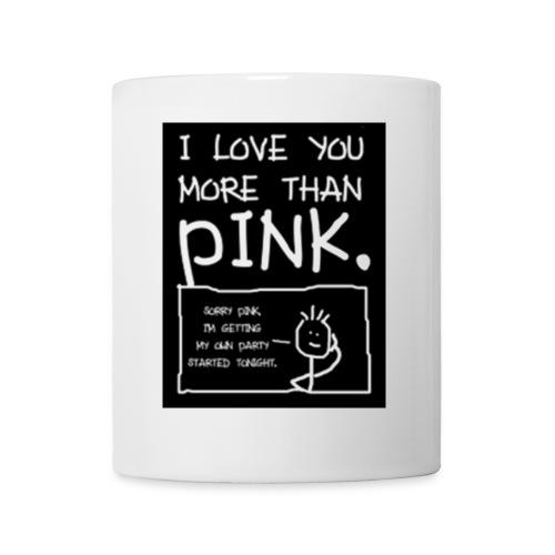 Pink - Mug blanc
