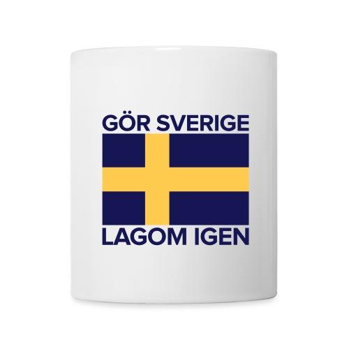 Gör Sverige lagom igen - Mugg