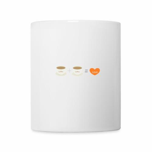 Coffe plus Coffee equals Love - Mug
