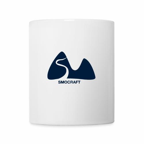 Logo v1 Bleu Sans So - Mug blanc