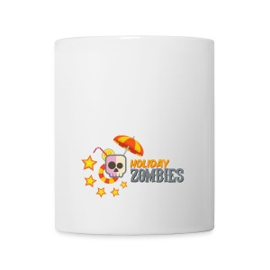 Holiday Zombies Logo - Taza
