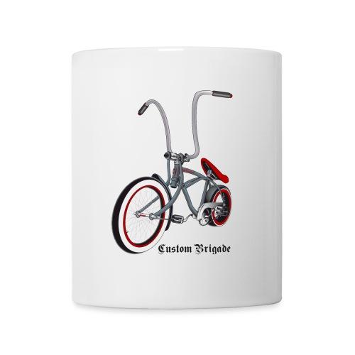 velo01 transparent - Mug blanc