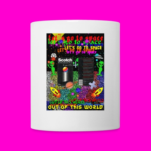 LET S GO TO SPACE - Mug