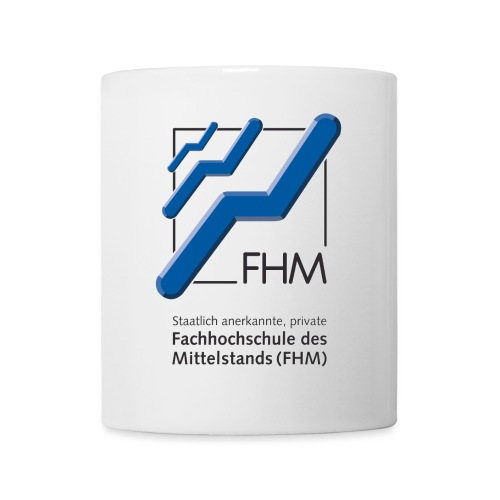 FHM Logo Hochformat - Tasse