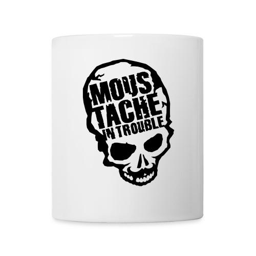 Moustache Skull - Tasse