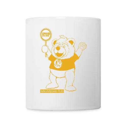 FUPO der Bär. Druckfarbe Orange - Tasse