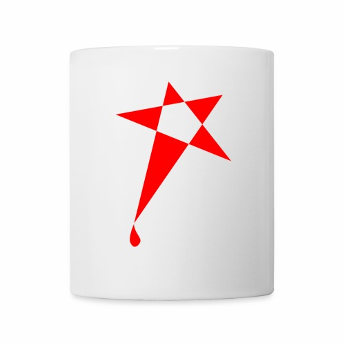 SWEATY STAR® Skateboarding Spread - Mug blanc